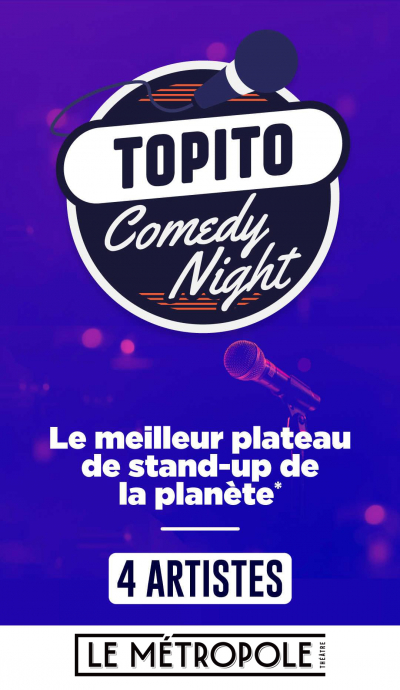 TOPITO COMEDY NIGHT